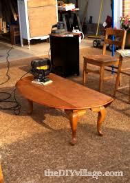 Drop Leaf Coffee Table Stenciled Bird Coffee Table The Diy