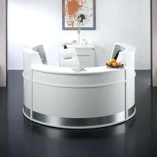 reception desk furniture for sale half round desk furniture c shape acrylic marble counter half round