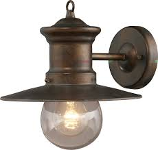 rustic outdoor wall mounted lighting outdoor lighting the large