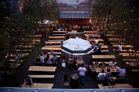 best beer gardens in america for imported and craft beer