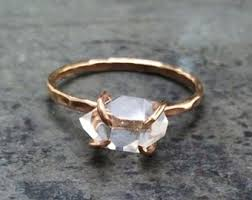 untraditional engagement rings non traditional etsy