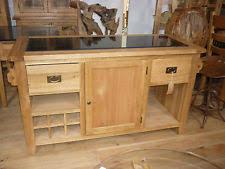 kitchen islands oak oak kitchen island ebay