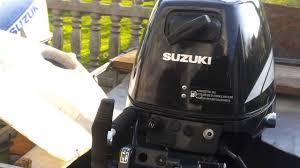 2007r suzuki df 15 hp outboard motor four stroke 4 suw youtube