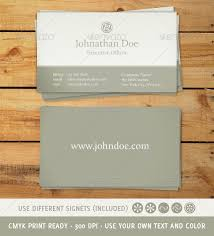 classic and business card by threebytes graphicriver