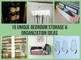 bedroom storage ideas 15 unique bedroom storage organization ideas