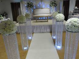 wedding arch ebay australia 3 iridescent wedding aisle decoration pillars
