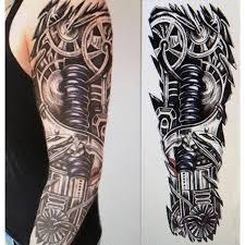 full arm temporary tattoo sticker glitter sleeve waterproof men