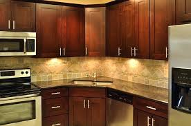 Kitchen Cabinetry Design Corner Kitchen Cabinet With Sink Corner Kitchen Cabinet Brown