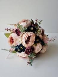 Shabby Chic Wedding Bouquets by Silk Wedding Bouquet 1 Weddbook