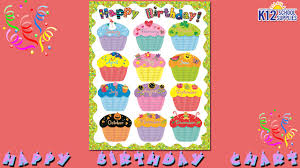 best birthday chart happy birthday chart teacher supplies