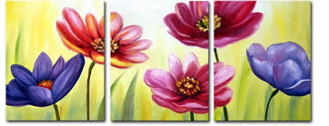 3 canvas for sale three set canvas paintings