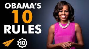 obama s michelle obama s top 10 rules for success flotus youtube