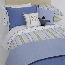 Twin Duvet Covers Boys Blue Preppy Stripe Twin Duvet Cover By Whistle U0026 Wink