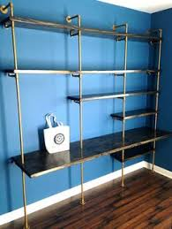 Industrial Shelving Units by Large Industrial Pipe Shelving Unit Industrial Office Shelf