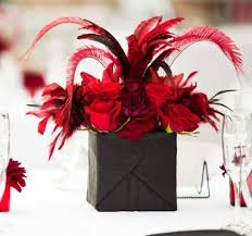 Red And White Centerpieces For Wedding by 349 Best Black U0026 White Wedding Flowers Images On Pinterest