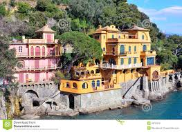 Portofino Italy Map Paraggi Portofino Italy Stock Photo Image 39791315