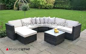 Rattan Table L L Shaped Wicker Patio Furniture L Shaped Patio Furniture Medium