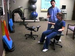 lumbar low back wobble chair exercises low back rehab low back