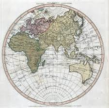 Eastern World Map by Large Scale Old Map Of The World Of Eastern Hemisphere Old Maps