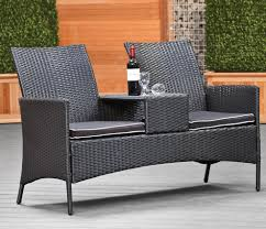 Indoor Outdoor Furniture Ideas Furniture Mesmerizing Wicker Loveseat For Outdoor Or Indoor