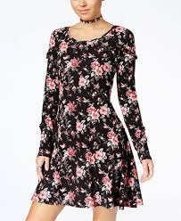 one hart juniors u0027 ruffled a line dress created for macy u0027s