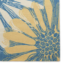 Yellow And Blue Outdoor Rug Nourison Home And Garden Blue Indoor Outdoor Rug 7 9 X 10 10