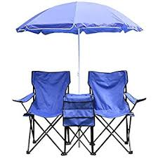 amazon com best choice products picnic double folding chair w