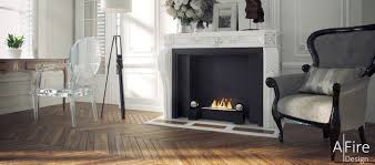ethanol fireplace insert u0026 burner with remote control afire