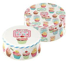 cupcake lamp for evie pinterest kitchens room and cupcake storage tins cakes biscuits retro treats cupcakes kitchen new