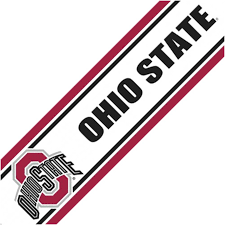 Ohio State Home Decor by Ohio State Wallpaper Border Related Post Clipgoo