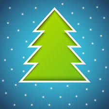 elements of abstract christmas tree vector material 01 vector