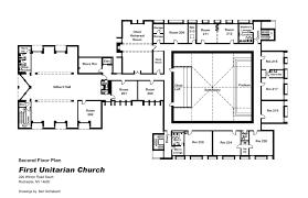 church floor plan file first unitarian church of rochester ny 2nd floor plan jpg