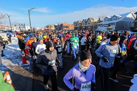 thanksgiving day races the calorie burn before the thanksgiving feast wsj