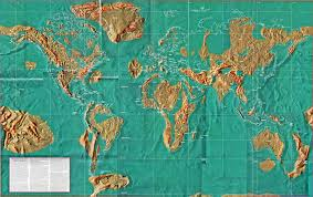 Realistic Map Of The World by Future Map Of The World Eventual Earth Changes