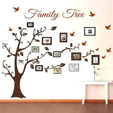 picture frame family tree wall tree decals trendy wall designs