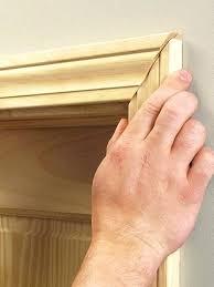 Exterior Door Casing Replacement How To Install Door Casing Check Mitered Casing Length