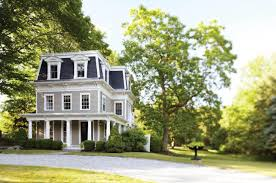 federal style house a backdrop for living home magazine