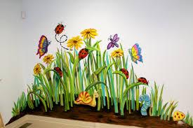 thinking about the nursery garden mural murals pinterest