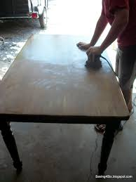 Refinishing Dining Room Table by Refinishing The Dining Room Table