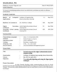 resume format for fresher resume format for freshers gentileforda