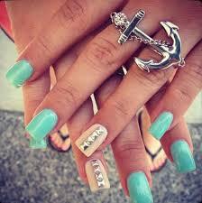 50 acrylic nail designs acrylics nail design and anchors