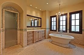 Contemporary Bathtub Luxury Master Bathroom Mediterranean Phoenix With Contemporary