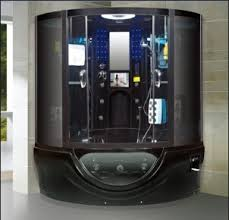 aliexpress buy black acrylic 2 person shower steam cabinet