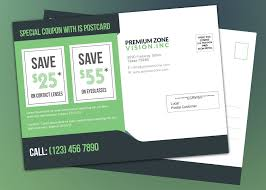direct mail templates coupon eddm template product promotion