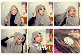 tutorial hijab segitiga paris simple pin by hayat on hijabi style pinterest