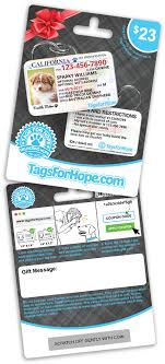 gift card distributors tagsforhope personalized pet id tags for dogs cats