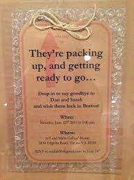 exceptional invitation to going away for employee all luxury