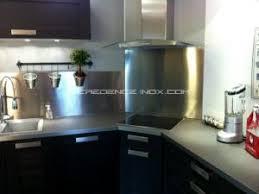 hotte cuisine inox une crédence pour votre hotte aspirante par credence inox