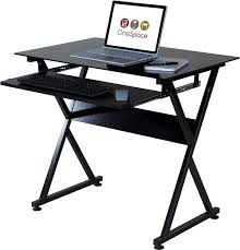 Ultra Modern Desks by Amazon Com Onespace 50 Jn1205 Ultramodern Glass Computer Desk