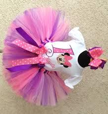 Pink Minnie Mouse Halloween Costume Minnie Mouse Pink Purple Birthday Tutu